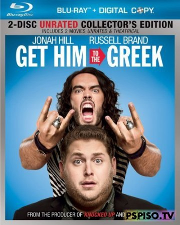 Побег из Вегаса / Get Him to the Greek [UNRATED] (2010)  [HDRip] [Лицензия]