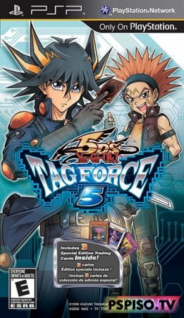 Yu-Gi-Oh! 5Ds Tag Force 5 - USA [FullRIP] [CSO] [Multi5] [5.00 m33-6]
