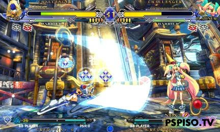 BlazBlue Continuum Shift II анонсирован для PSP