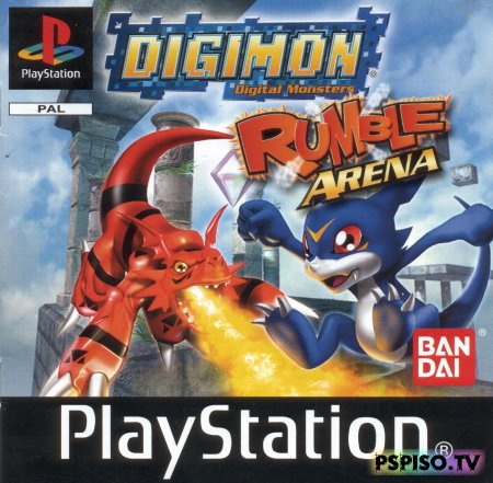 Digimon Rumble Arena (2000) [PSX]