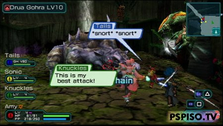 Phantasy Star Portable 2 [ENG] [RePack]