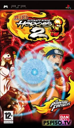 Naruto Ultimate Ninja Heroes 2: The Phantom Fortress