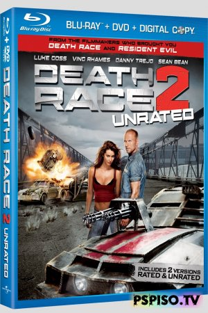 ����������� ����� 2: ������������ ��� | Death Race 2 (2010) [HDRip]