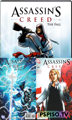 ТРИ тома Assassin's Creed: The Fall 1,2,3 (PSP)