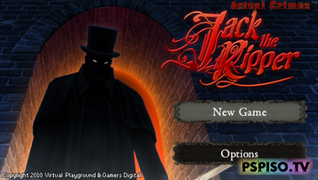 Actual Crimes: Jack the Ripper [ENG][PSP]