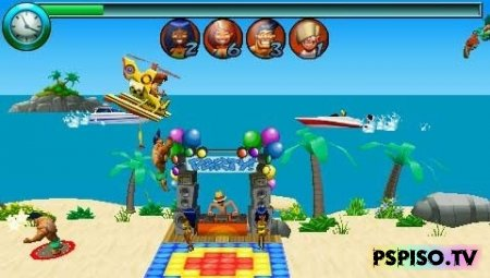 Beach Buzzin Chopper [Eng][PSP]
