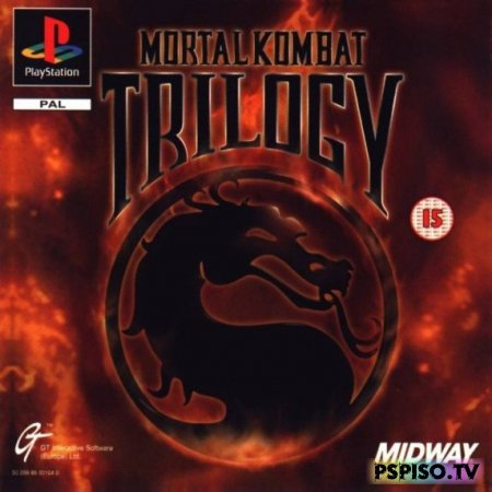 Mortal Kombat: Trilogy (Greatest Hits Edition) [PSX]