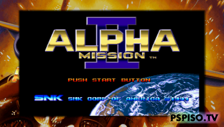 Alpha Mission II (PSP/ENG)