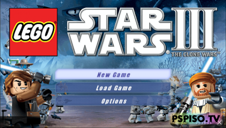 Lego Star Wars III: The Clone Wars [ISO][ENG]
