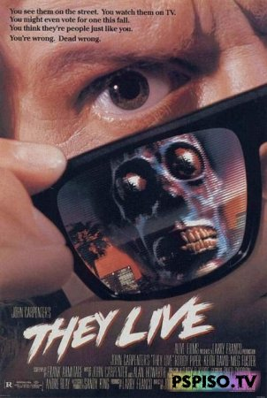 ����� ����� ��� (��� �����) | They Live (1988) [HDRip]
