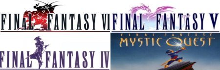 SNES Final Fantasy pack