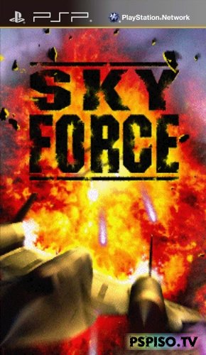 Sky Force PSP [ENG][Minis]