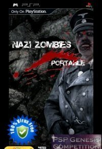 NZP Nazi Zombies Portable 1.2 Reflux Edition (PSP/Eng)