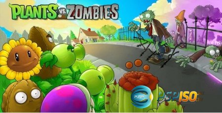 Plans vs Zombies (PSP/Eng)
