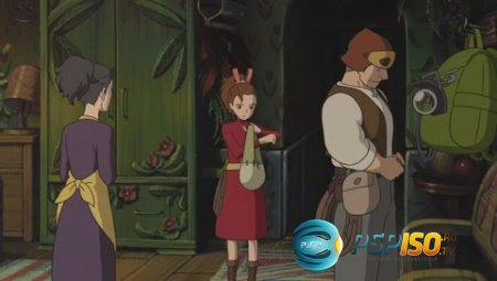 Ариэтти из страны лилипутов / The Borrower Arrietty / Kari-gurashi no Arietti (2010) HDRip