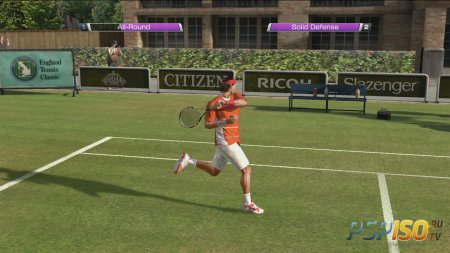 Virtua Tennis 4 - видео