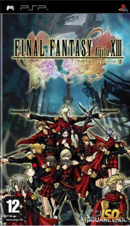 Новый скан игры Final Fantasy XIII Agito (Type-0)