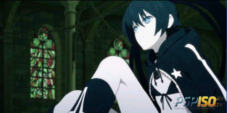 Аниме Black ★ Rock Shooter (OVA/HDrip)