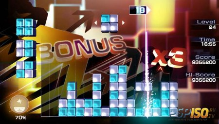Lumines: Electronic Symphony - скриншоты