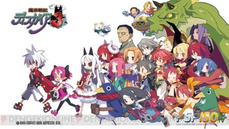 Новое видео Disgaea 3 Return
