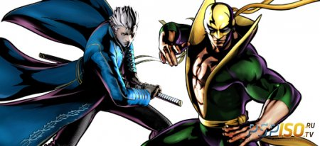 Vergil и Iron Fist в Ultimate Marvel Vs Capcom 3