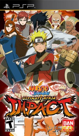 Naruto Ultimate Ninja Impact - USA