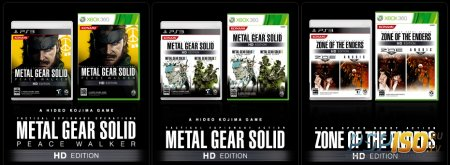 Metal Gear Solid: HD Collection и Zone of the Enders: HD Collection выйдут на PS Vita