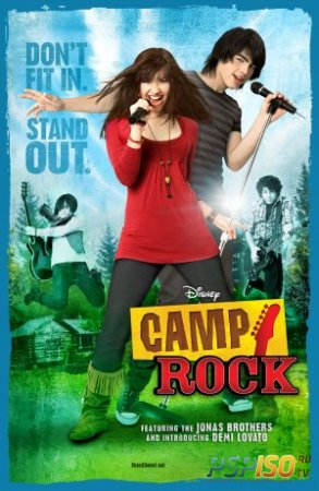 Рок в летнем лагере / Camp Rock [HDRip]