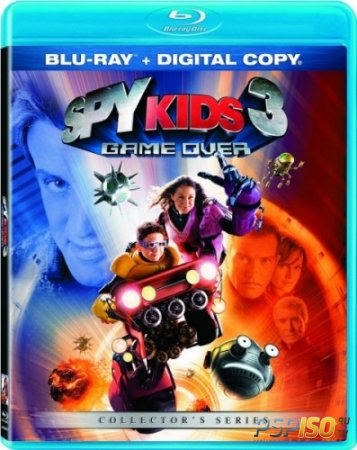 ���� ������� 3: ���� �������� / Spy Kids 3: Game Over [HDRip]