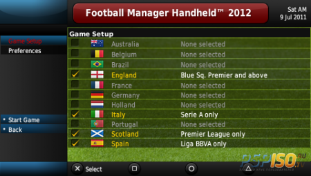 Football Manager Handheld 2012 [EUR]