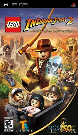 LEGO Indiana Jones 2: The Original Adventures [ENG] [Rip]