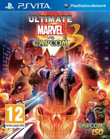 Ultimate Marvel Vs. Capcom 3 - бокс арт