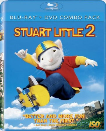 Стюарт Литтл 2 / Stuart Little 2 [HDRip]