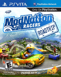 Снова о ModNation Racers: Road Trip!