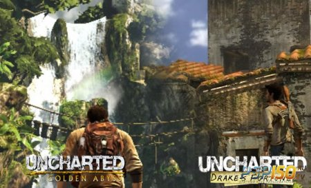 Сравнение Golden Abyss с Drake's Fortune