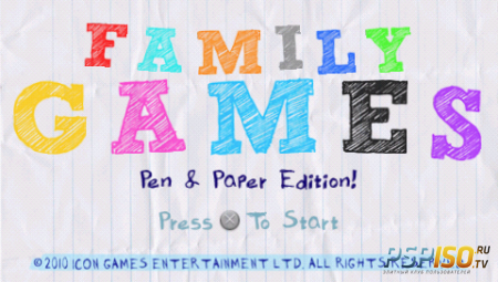 Family Games: Pen & Paper Edition [EUR]