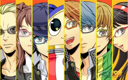 Дата релиза игры Persona 4: The Golden в Японии