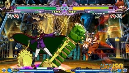 Дата релиза BlazBlue CS Extend на PSP