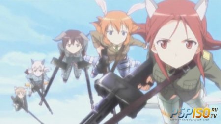 ����������� Strike Witches ��� PSP ������� �������������� �������
