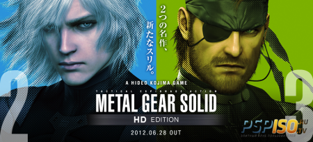 Metal Gear Solid HD Edition - игровое видео