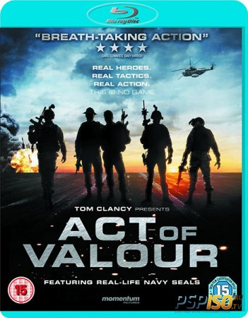 Закон доблести / Act of Valor (2012) HDRip