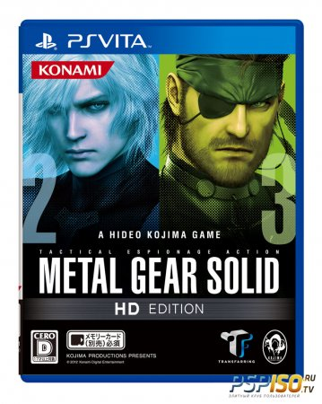 ����� Metal Gear Solid HD Collection ��� PS Vita
