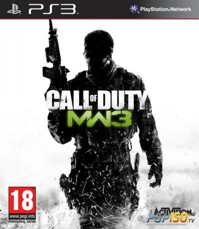 Call of Duty: Modern Warfare 3 [FULL] [ENG] (Версия дляTrue Blue)+ (версия для 3.55)