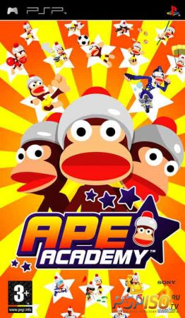 Ape Escape Academy [PSP][FULL][ENG]