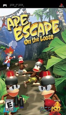 Ape Escape - On The Loose [PSP][FULL][ENG]
