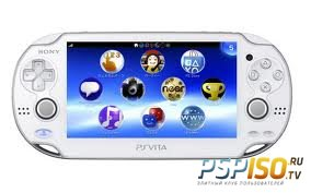 PS VITA crystal white распаковка.