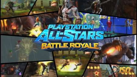 PlayStation All-Stars Battle Royale - геймплейное видео