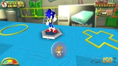 SONIC возвращается в игре Super Monkey Ball: Banana Splitz!