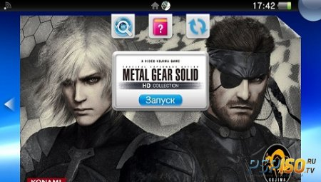 Metal Gear Solid: HD Collection для PS Vita: страница игры