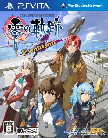 Дата выхода The Legend of Heroes: Zero no Kiseki Evolution и Box art в HD